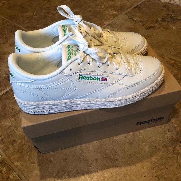 b0973d06abac Reebok Club C Vintage Classic Sneaker Green Cream